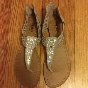 Taupe Summer Sandals